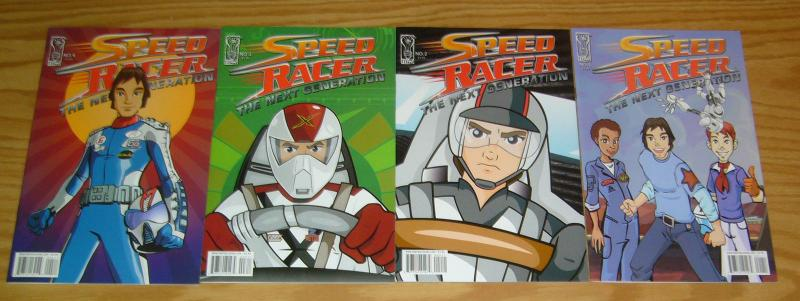 Speed Racer: the Next Generation #1-4 VF/NM complete series 2 3 idw comics set
