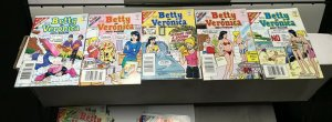 BETTY and VERONICA DIGEST MAGAZINE LOT of 5 Early-Mid 2000's FINE! #6