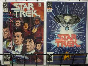STAR TREK 17-18 PARTNERS complete story