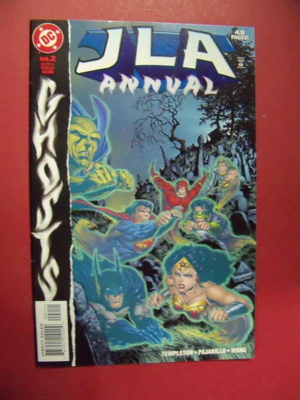 JUSTICE LEAGUE OF AMERICA  ANNUAL #2 VF/NM OR BETTER  DC COMICS