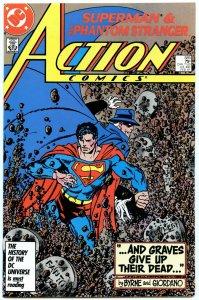 Action Comics 585 Feb 1987 NM- (9.2)