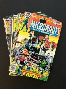 LOT of 8~MARVEL THE MICRONAUTS #2-7, 9-10  1978/79 FINE/VERY FINE  (A183)