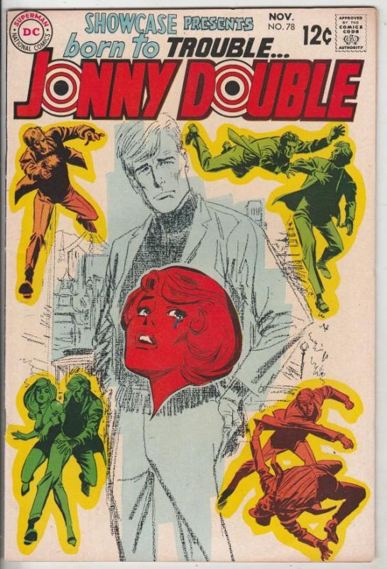 Showcase #78 (Nov-68) NM- High-Grade Jonny Double