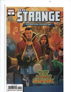 DR STRANGE #5 MAIN MARVEL 2020 nw16
