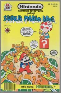 NINTENDO COMICS SYSTEM (1991VL)  6 FN+ Mario Bros