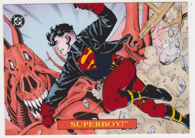 1993 Bloodlines Embossed Foil #S4 Superboy