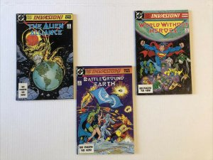 Invasion #1 -3 Lot Of 3 Books Complete Series