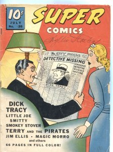 SUPER #38-1941-SMOKEY STOVER-DICK TRACY-MAGIC MORRO-WINNIE WINKLE