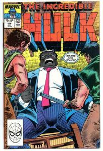 Incredible HULK #356, NM-, Bikers, Bruce Banner, 1968 1989, more Marvel in store