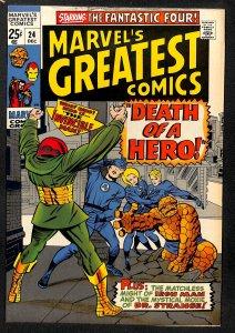 Marvel's Greatest Comics #24 (1969)