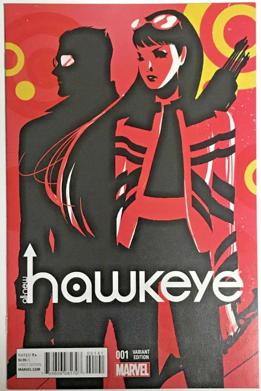ALL NEW HAWKEYE#1 NM 2015 W.O.M VARIANT MARVEL COMICS