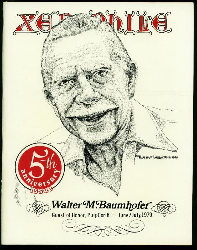 Xenophile Fanzine #42 1979- Baumhofer- Pulps - 5th Anniversary VF