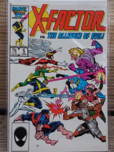 X-Factor 5 VF/NM Unread. 1st cameo Apocalypse !