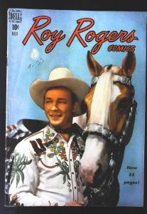 Roy Rogers Comics (1948 series) #23, VG (Actual scan)