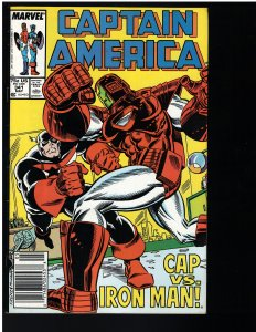 Captain America #341 (Marvel, 1988)
