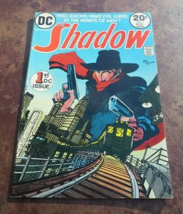 The Shadow #1 VF DC Comic Book 1st DC Appearance Shadow Kaluta Cover And Art