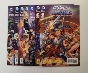 DC Universe VS. Masters Of The Universe #1-6 Includes #1 Variant DC Comics VF/NM