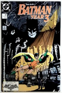 BATMAN #437 NM High Grade  YEAR 3 PART 2 1989 1st PRINT DC COMICS Comic book