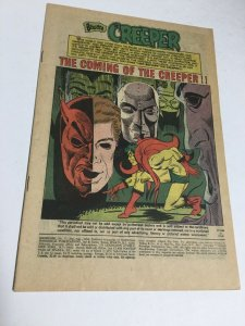 Showcase 73 Coverless First Appearance Of The Creeper DC Comics Silver Age