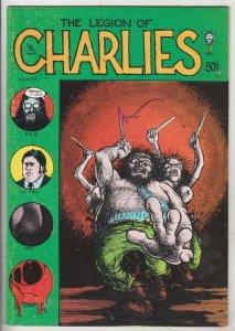 Legion of Charlies #1 (Jan-71) FN High-Grade Big C, Lt. Cali