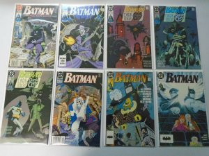 Batman comic lot 44 different from #450-499 avg 8.0 VF (1990-93)
