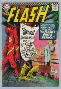 Flash 159 Mar 1966 VG- (3.5)