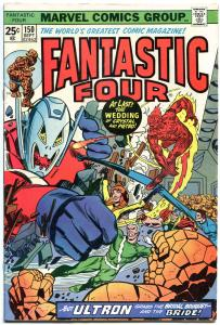 FANTASTIC FOUR #150, FN, InHumans, Wedding, Ultron, 1961, more FF in store, QXT
