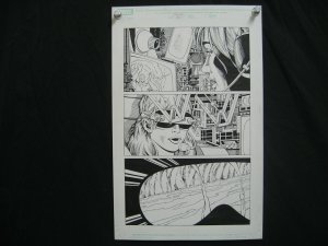 MARSHALL ROGERS-SPITFIRE-ORIGINAL ART-PG5-MARVEL COMICS FN