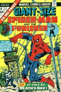 Giant-Size Spider-Man #4 VG; Marvel | low grade comic - save on shipping - detai