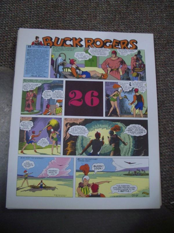 BUCK ROGERS #26-ITALIAN SUNDAY STRIP REPRINTS-CALKINS FN