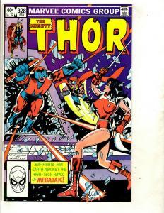 Lot of 9 Thor Marvel Comics # 336 335 334 333 332 331 330 329 328 Spider-Man DS3