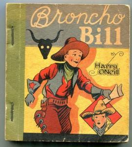 Broncho Bill by Harry O'Neill 1934- Ice Cream Cup Premium Comic G