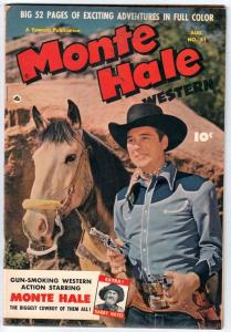 Monte Hale Western #51 (Aug-50) VG/FN Mid-Grade Monte Hale, Gabby Hayes