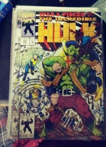 Incredible Hulk  # 391 mar 1992 MARVEL war and pieces  pt 2 x factor