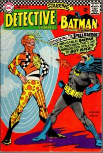 DETECTIVE 358 VERY GOOD  Dec 1966 Spellbinder Infantino