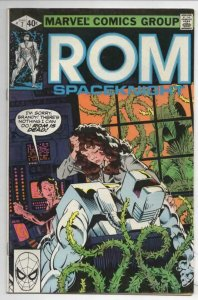 ROM SPACEKNIGHT #7 VF Buscema, Marvel, 1979 1980 more Marvel in store