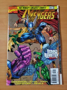 The Avengers #12 ~ NEAR MINT NM ~ (1997, Marvel Comics)