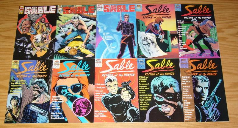 Sable #1-27 VF/NM complete series - tim vigil - marv wolfman - first comics set