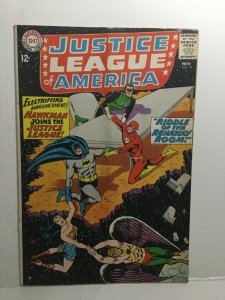 Justice League Of America 31 Gd Good 2.0 Sub Fold Cover Detached DC Comics