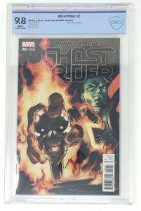 Ghost Rider 2 Lopez Variant 1:25 Robbie Reyes 9.8