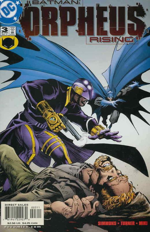 Batman: Orpheus Rising #3 VF/NM; DC | save on shipping - details inside