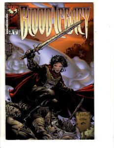 5 Comics Blood Legacy 3 Arcana Studio Pres Worlds Aspen 1 Nicki Shadow 1 2 J310