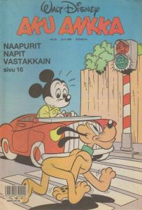 Walt Disney's Aku Ankka (1990) #39 FN; Sanoma | save on shipping - details insid