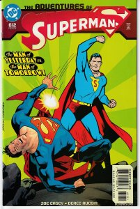 Adventures of Superman # 612,614 - 617 THE COMING OF THE HOLLOW MEN !