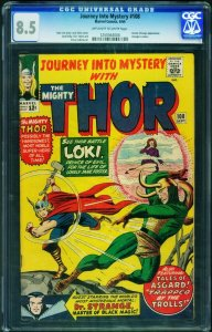JOURNEY INTO MYSTERY #108 CGC 8.5 1964-MIGHTY THOR-Marvel 1250564006