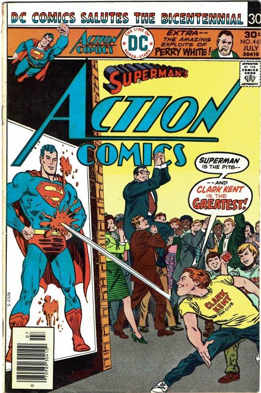 Action Comics #461 - Superman FN-