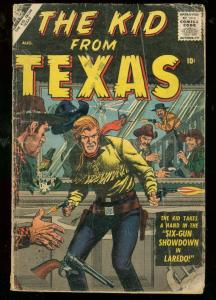 KID FROM TEXAS #2 1957-ATLAS COMIC-WILD WESTERN-SINNOTT FR