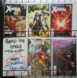 Uncanny X-Men (Marvel 2012 v2) #1-5 Regenesis Kieron Gillen + Carlos Pacheco