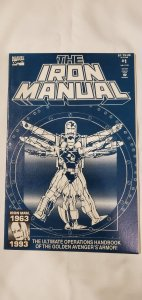 Iron Manual #1 - VF/NM - Marvel 1993 - Sienkiewicz Cover