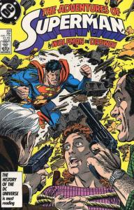 Adventures of Superman #428 VF/NM; DC | save on shipping - details inside